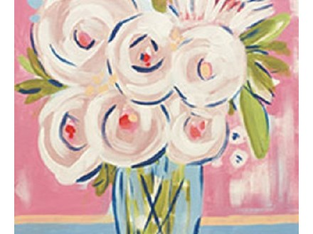 """Paint & Sip """"Abstract Peonies"""""""