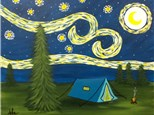 Starry Night Camping - (Camper or Tent Choice)