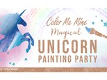 Magical Unicorn Painting Party!