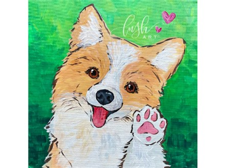 Puppy Paint Class -WR