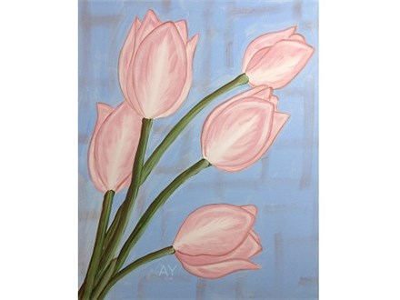 Simply Tulips Paint and Sip