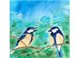 Foul Mouthed Fowl Bird Series Paint Class