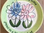 Family Pottery - Mother's Day Platter - 05.07.17
