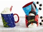Holiday Mug and Hot Cocoa Bar