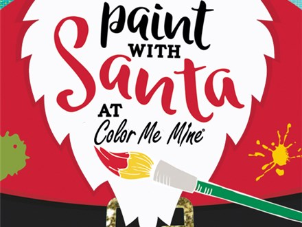 Paint with Santa at Color Me Mine(12/1/19)- Henderson, Nevada