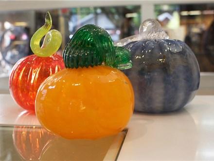 make your own glass pumpkin - september 28th