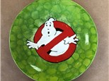 Family Pottery - Ghostbusters Plate - 03.24.19