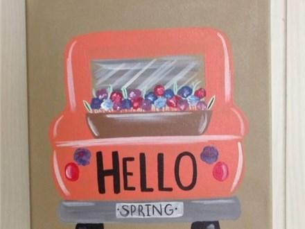 Hello Spring Paint Night(Toni) 4/3 6-9PM