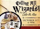 Wizard Night - October 11 @ 6pm