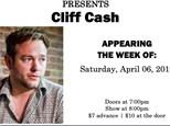 Cliff Cash & Michael Geeter - April 6th