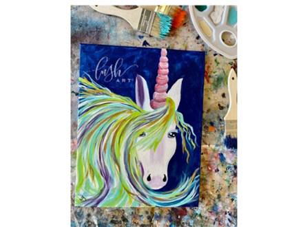 Unicorn Paint Class