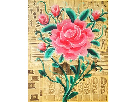 SOLD OUT!!! Antique Rose (mixed media)