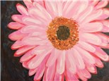 "Canvas Night, ""Gerber Daisy,"" September 12th 7-10pm"