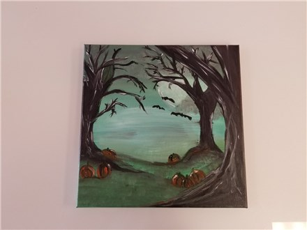 Mystic Meadow Canvas Class $35 (Adult)