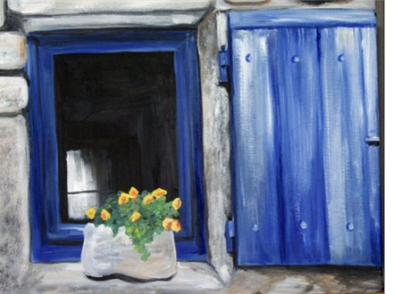 Paint & Sip - Country Window - Jan. 28 - 4:00 PM