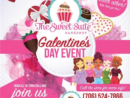 """""""GAL""""entine's Day Ladies Night Out: The Little Black Apron Event"""