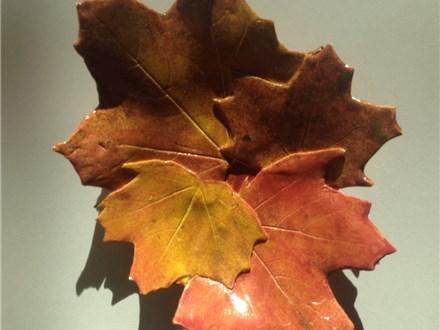 Ceramic Leaf Bowl