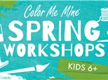 SPRING BREAK WORKSHOP MARCH 16-19