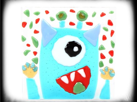 Fused Glass Monster