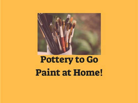 Pottery To Go Paint at Home