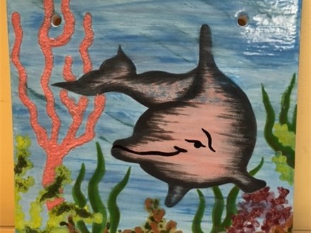 Single Day Workshop - Dolphin Plaque - June 11
