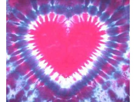 Heart Tie-dye Workshop at The Art Garage