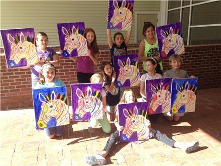 Deluxe Canvas Painting Party Deposit