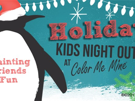 Kids' Night Out: Holiday Workshop - November 30 @ 6pm