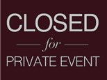 Private Event - (No Class, Nov. 3)