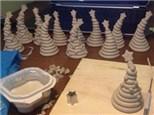 Christmas Tree: Clay Hand Building