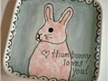 Kids Thumbunny Plate
