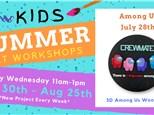 Kids Art Workshop - Among Us 7/28
