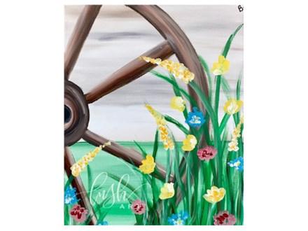 Wagon Wheel Paint Class