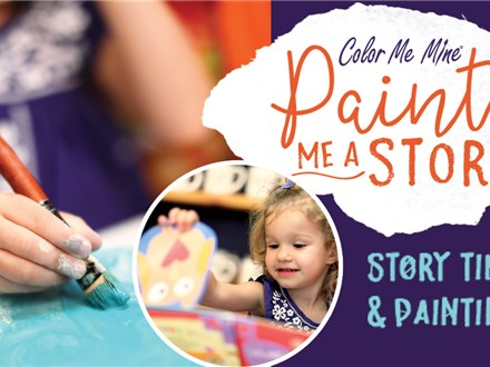Paint Me A Story: Saturday, November 10th @ 10am