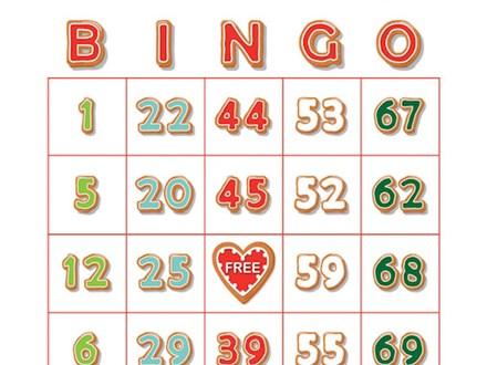 FREE Senior Baking Buddies Holiday Bingo