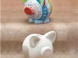 """ Piggy Bank"" To- Go Kit- at Color Me Mine - Aspen"