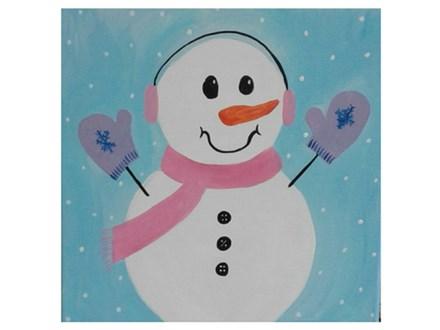 Sweet Snowman - Paint & Sip - Feb 22