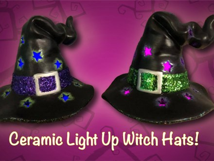 Mom N' Me Witch Hats - Oct. 6th