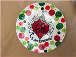 Family Pottery Painting - Countdown to Christmas Platter - 11.27.16