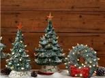 Christmas Tree Painting Workshop in July