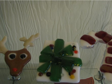 Fused Glass Ornaments Workshop Dec 6