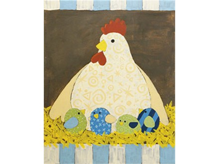 Adult Canvas - Mother Hen - 05.14.17