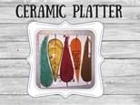 Ceramic - Thankful Plate