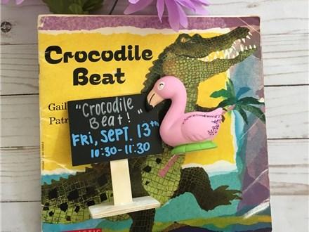 "Pre-K Storytime ""Crocodile Beat!"""