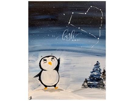 Penguin Paint Class