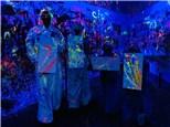 Glow in the Dark Splatter Zone Party 6-20 People