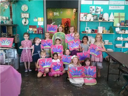 Birthday Parties for Kids at The Artsy Place