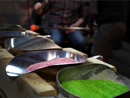 glassblowing at glassybaby madrona 11/13