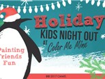 Kids Night Out! Candy Cane Holiday Party! December 14