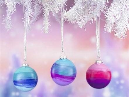 Maker's Night - Ombre Ornaments! - Nov. 21